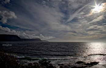 Sunset view from Lobsterhead Cove in Gros Morne National Park