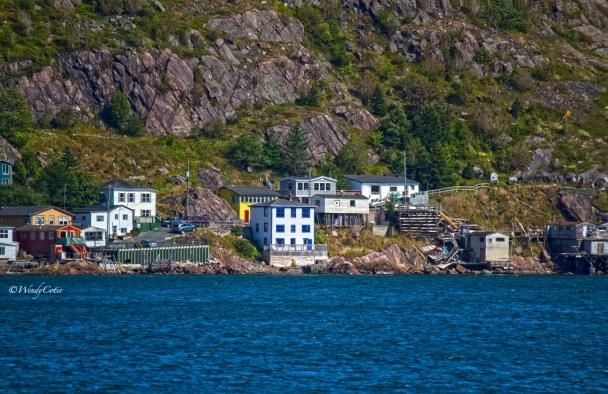 St. John's, houses built into the rock