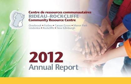 2012 Annual Report for Rideau–Rockcliffe Community Centre