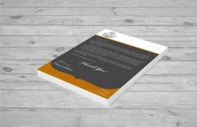 Letterhead-letter to client